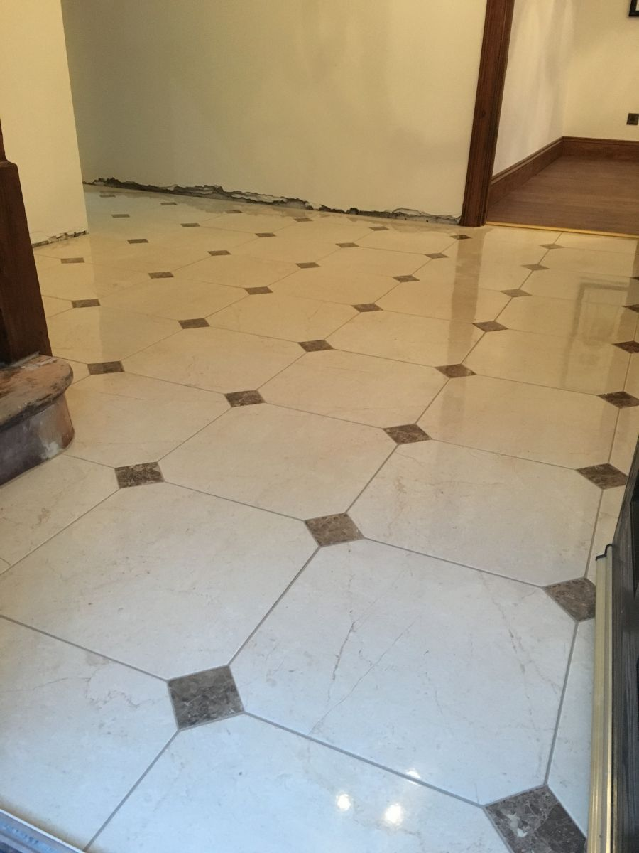 Tile stone flooring professional floor and wall tiling service hallway floor porcelain tile and stone flooring dailygadgetfo Image collections